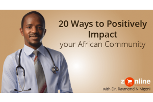 positively impact african community zonline africa