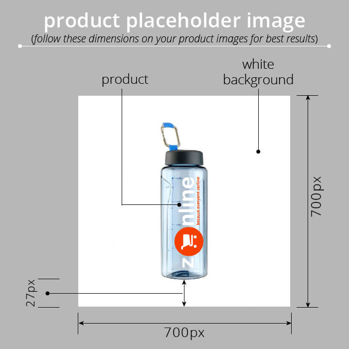 product image dimensions on zonline